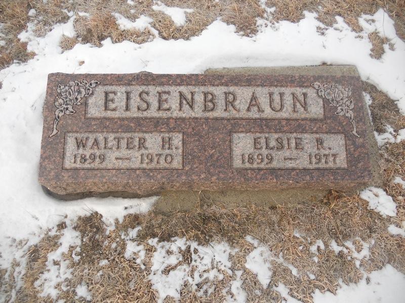 Elsa Sophia Regina Elsie <i>Ahntholz</i> Eisenbraun