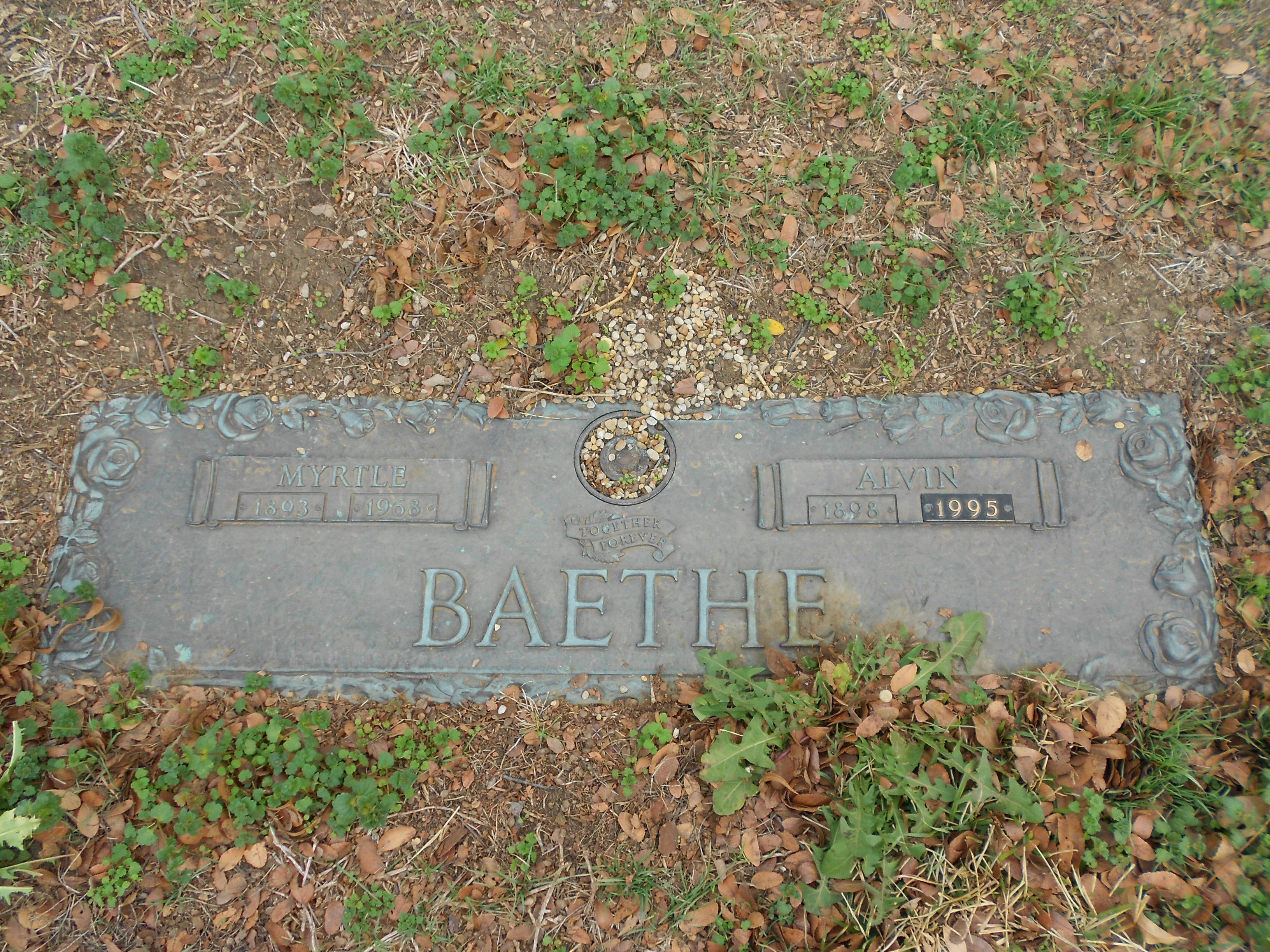 Alvin John Baethe