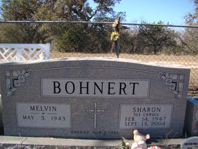 Sharon <i>Cravey</i> Bohnert