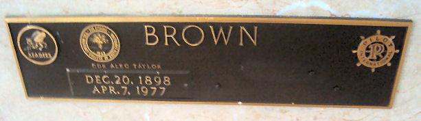 Alec Taylor Brown