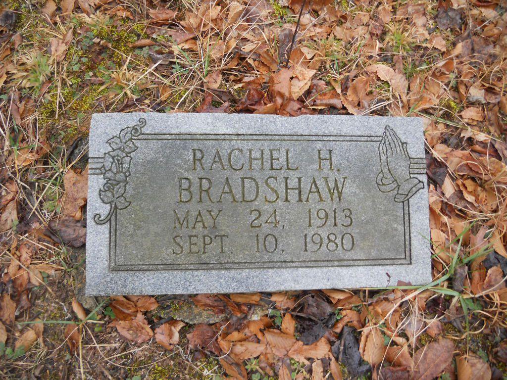 Rachel <i>Holt</i> Bradshaw
