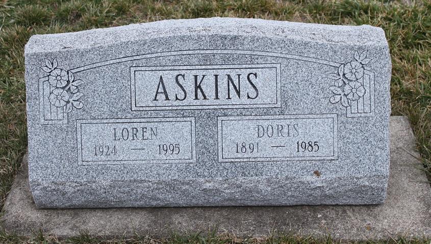 Doris <i>Huff</i> Askins
