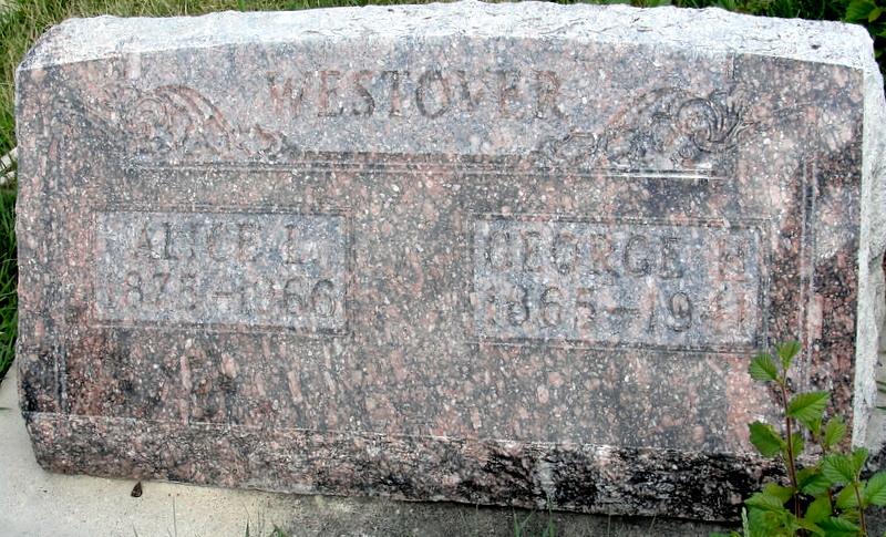 Alice Ann <i>Leonard</i> Westover