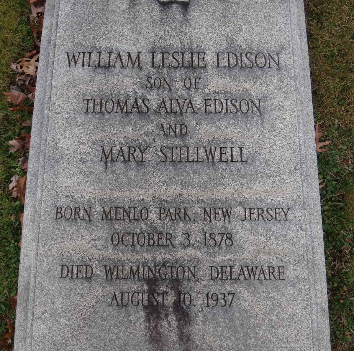 William Leslie Edison
