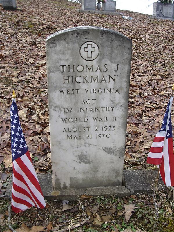 Sgt Thomas J Hickman