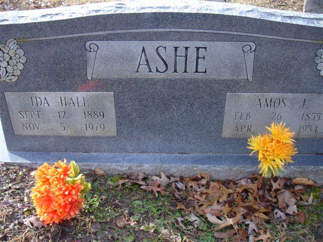Amos J Ashe