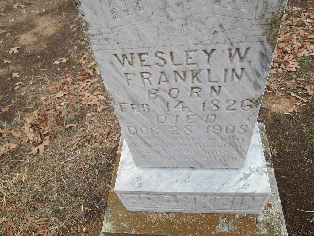 Wesley W. Franklin