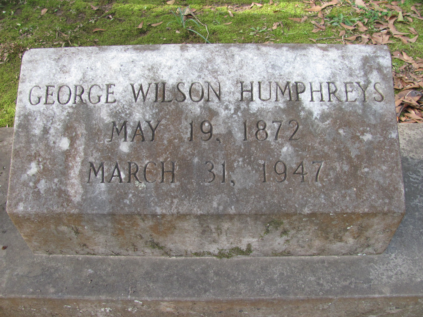 George Wilson Humphreys