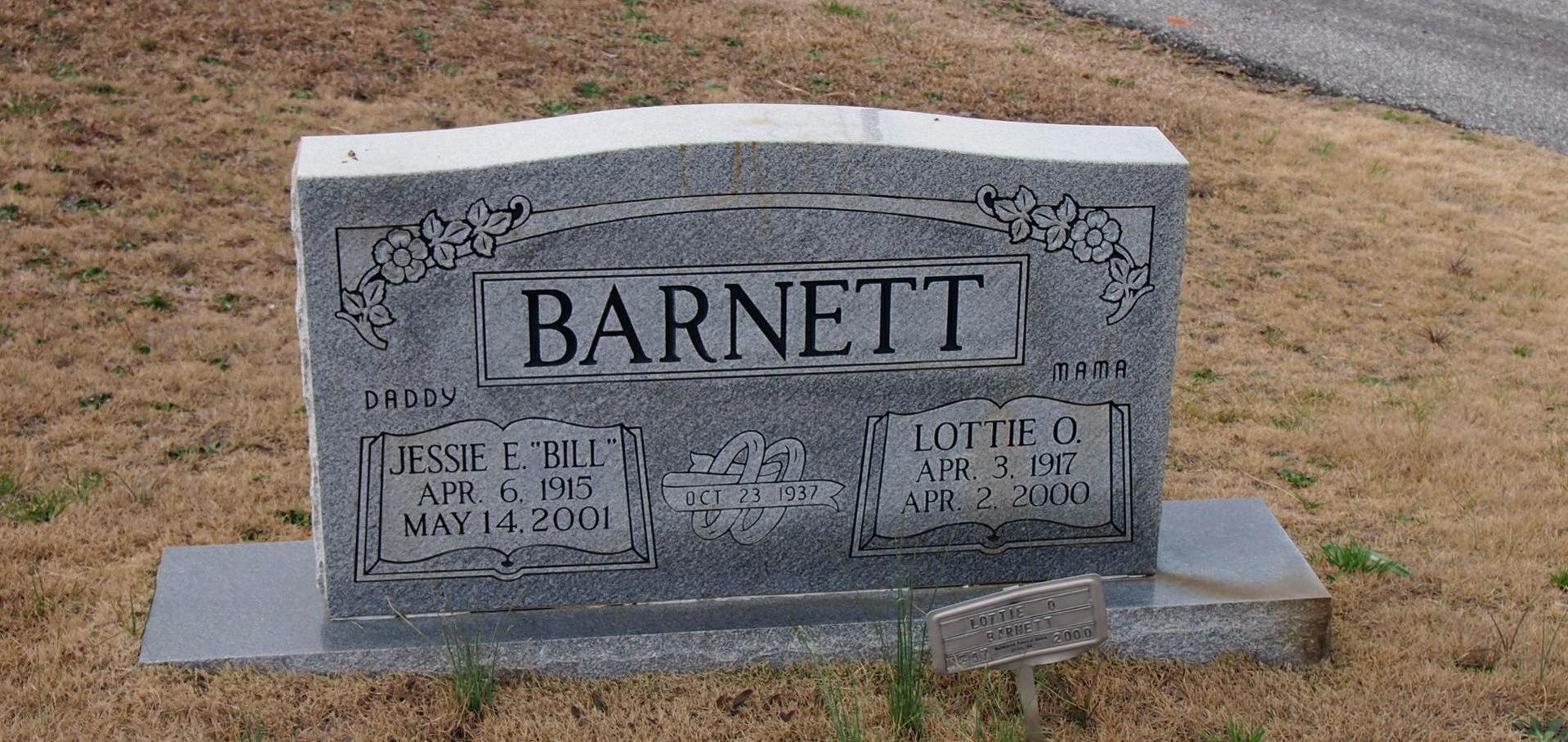 Lottie Lorene <i>O'Shields</i> Barnett