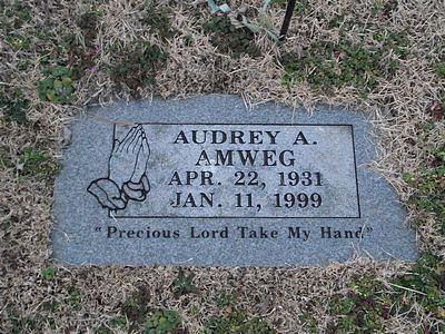 Audrey Aileen <i>Sanders</i> Amweg