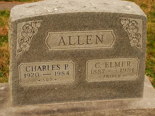 C Elmer Allen
