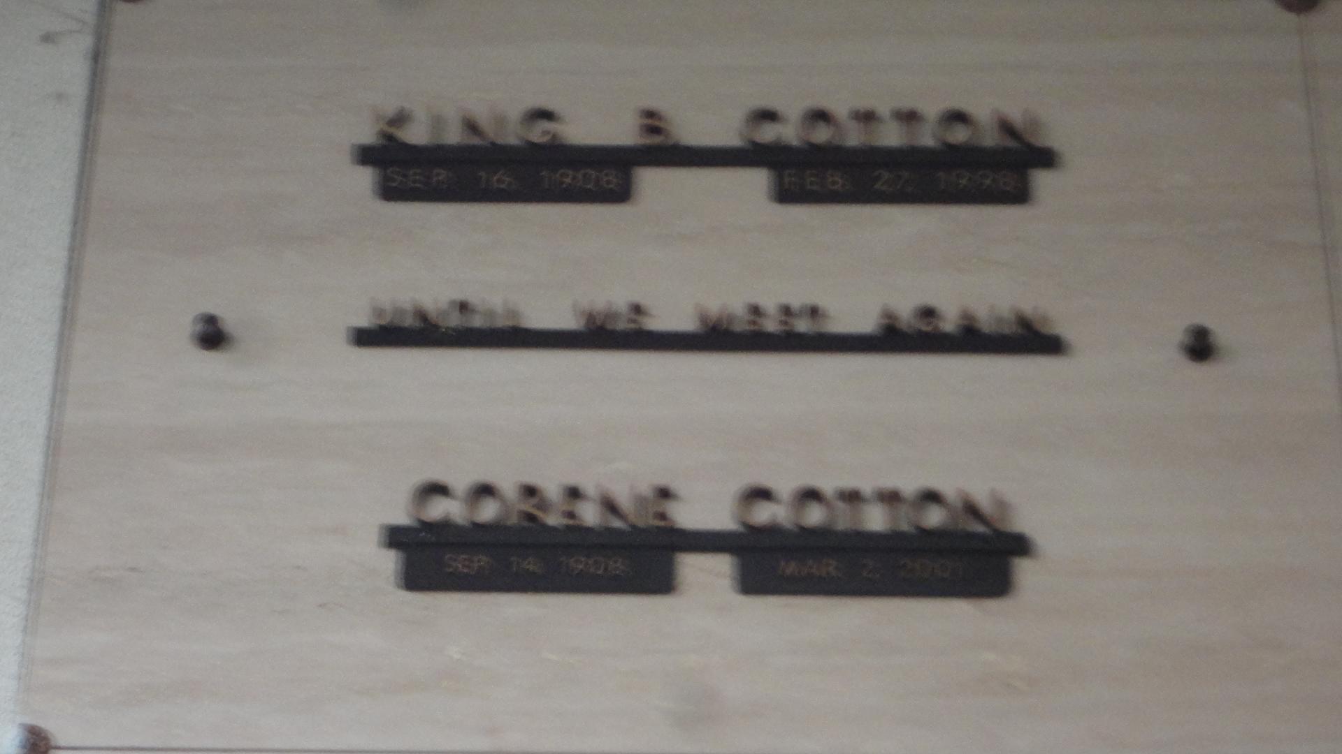 King Bradley Cotton