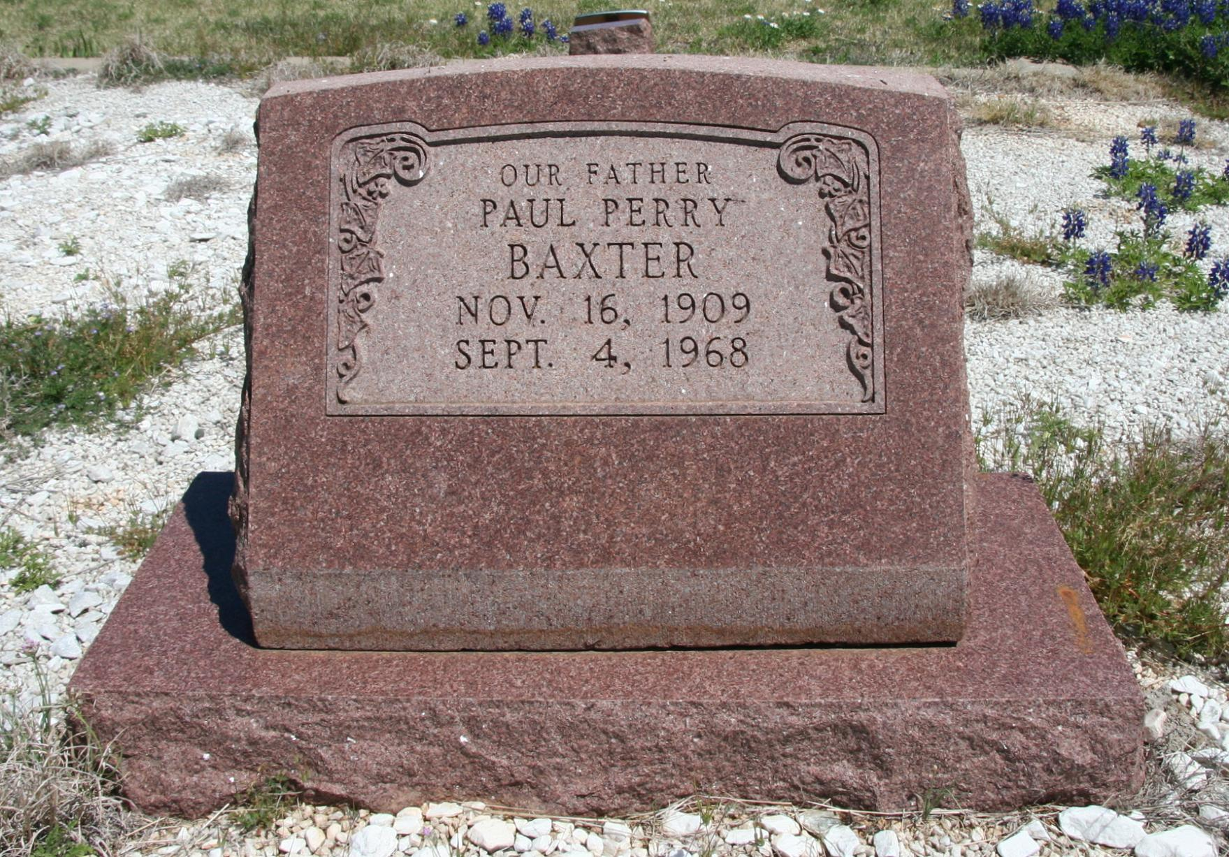 Paul Perry Baxter