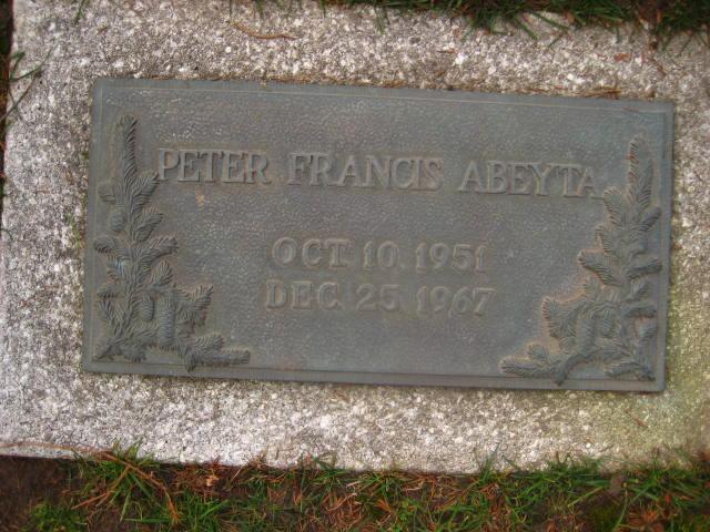Peter Francis Abeyta