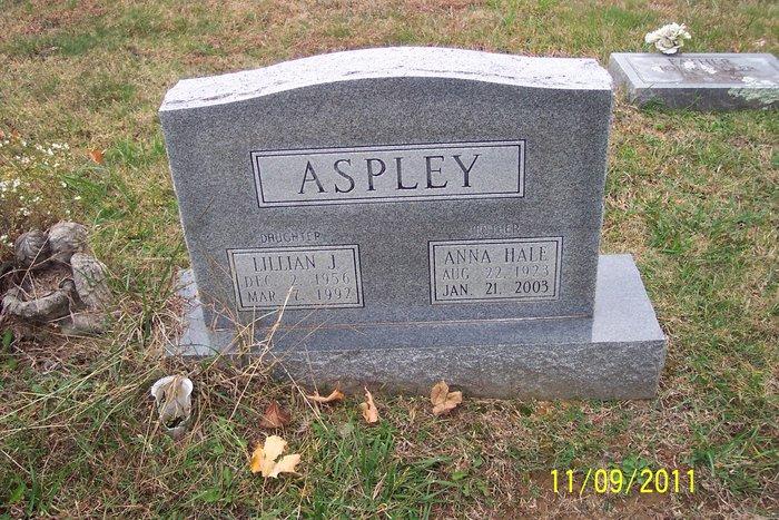 Anna <i>Hale</i> Aspley