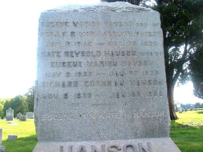 Eugene Marion Hanson