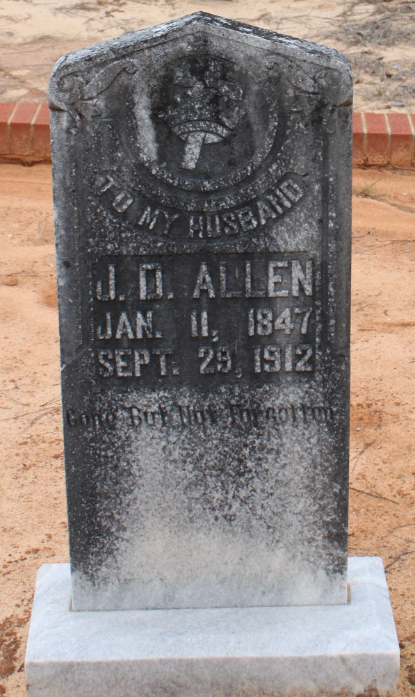 Pvt James D. Bud Allen