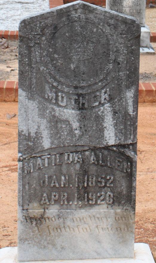 Matilda J. <i>Warren</i> Allen