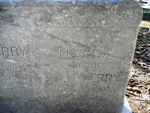 Mary A <i>Moss</i> Terry