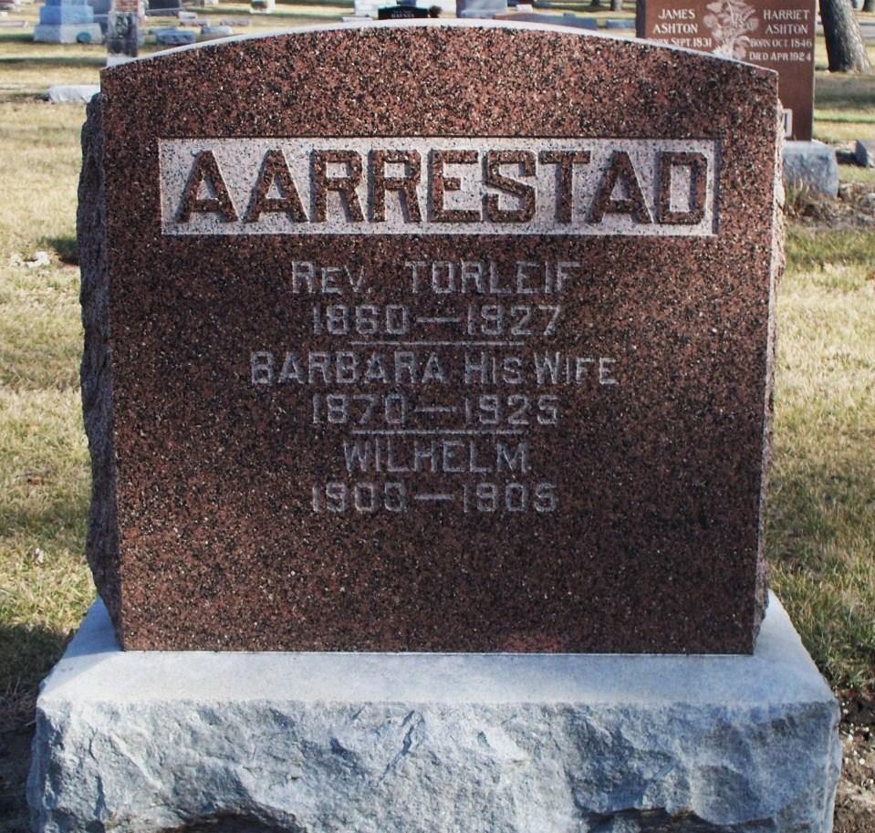 Rev Torleif Aarrestad