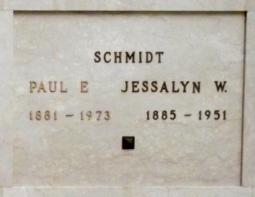 Paul E Schmidt