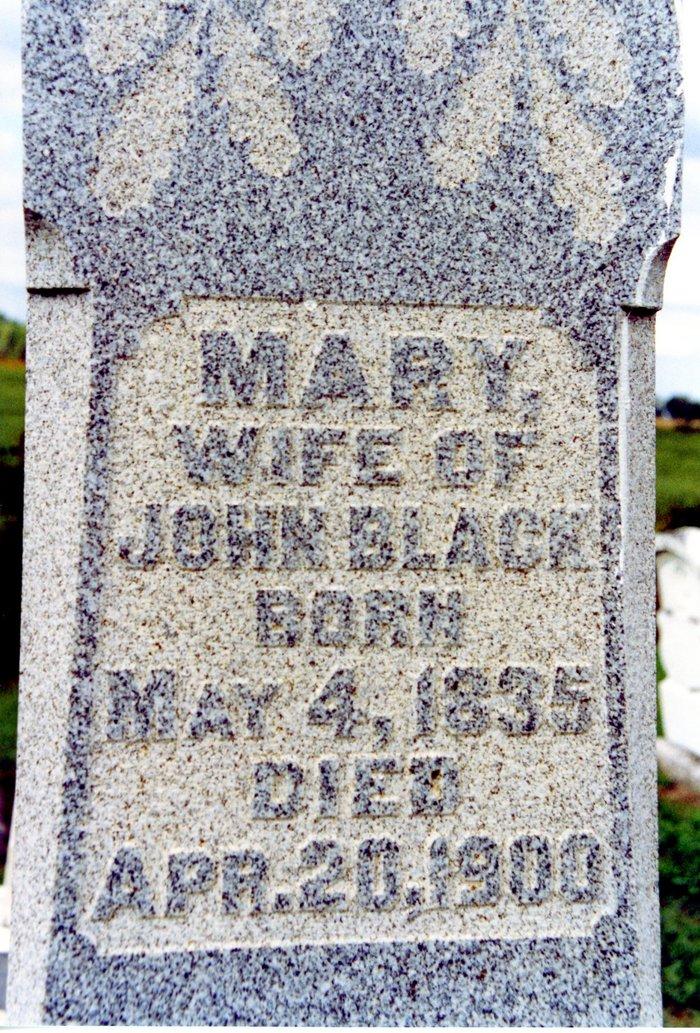 Mary <i>Jacoby</i> Black