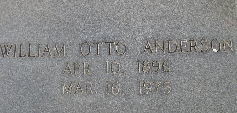William Otto Anderson