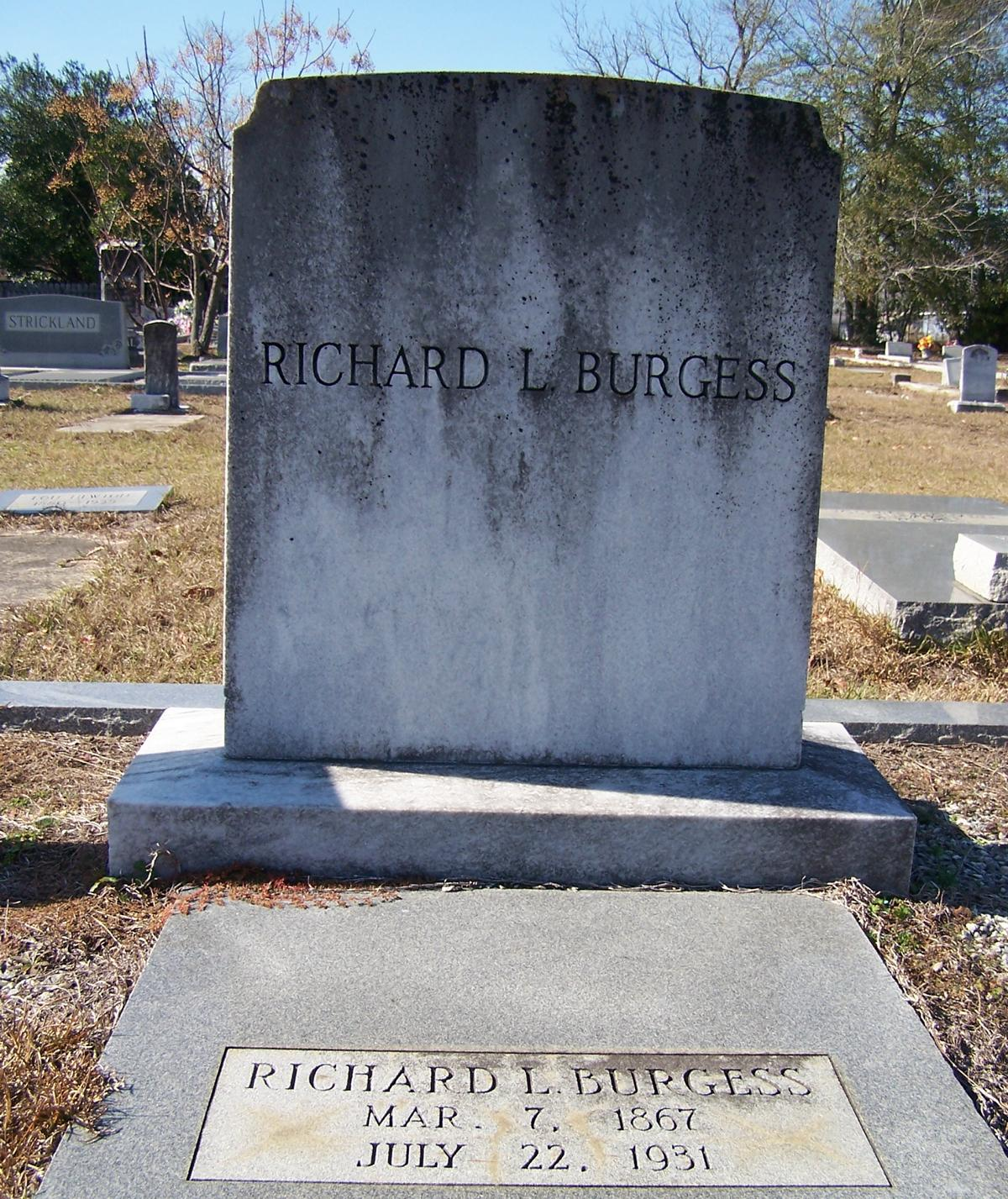 Richard L Burgess