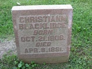 Christiann <i>Newhouse</i> Blacklidge