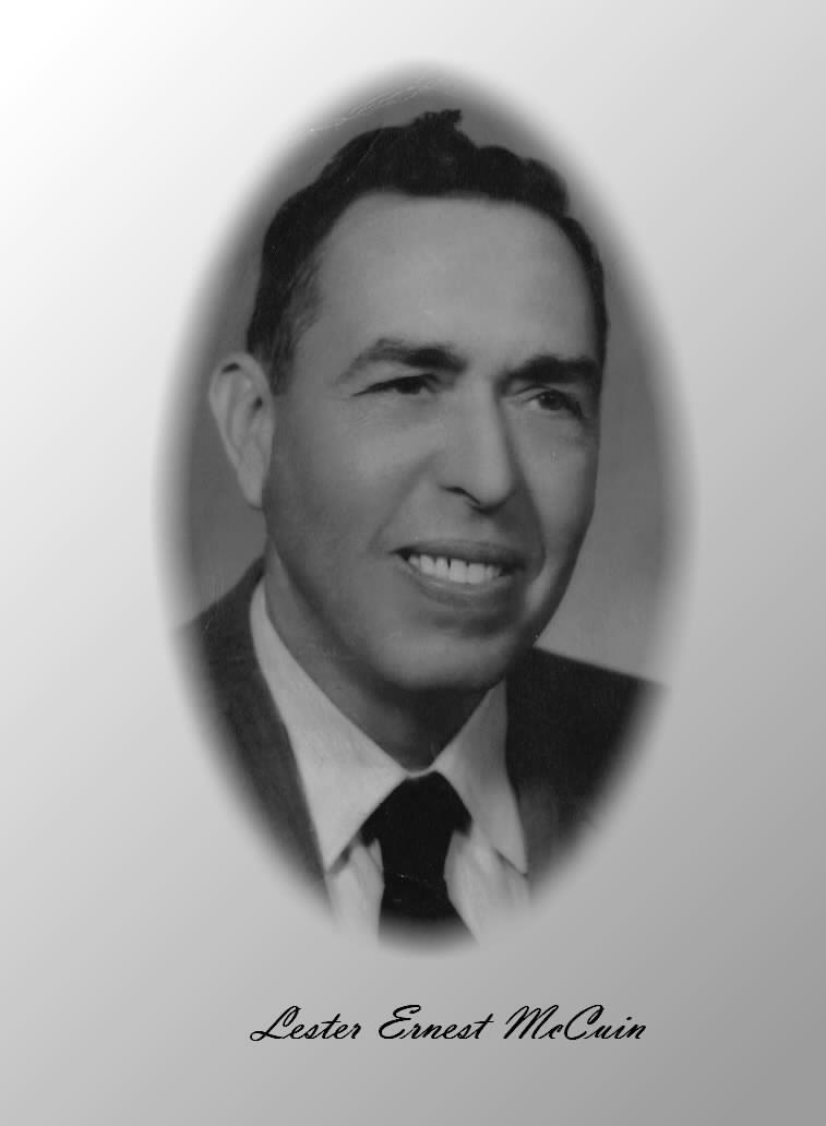 Lester Ernest McCuin