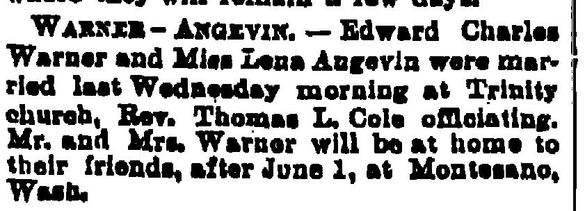 Edward Charles Warner