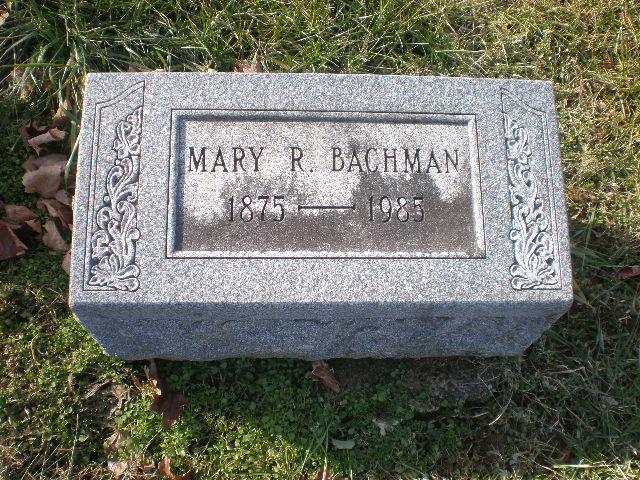 Mary R. Bachman