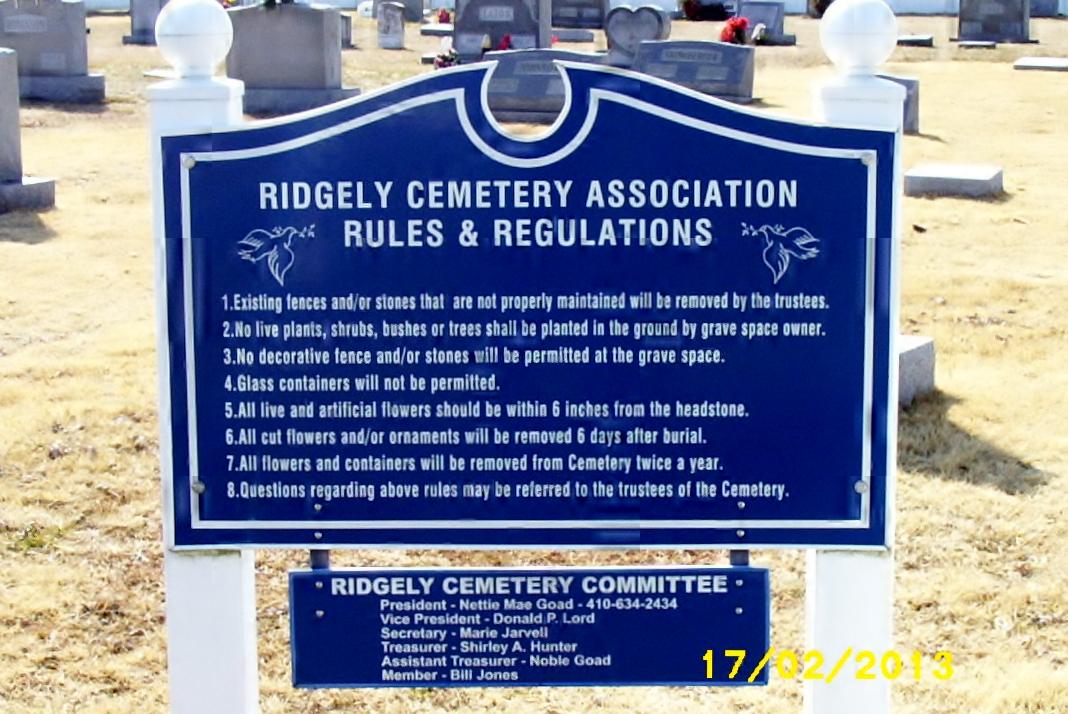Ridgely Cemetery