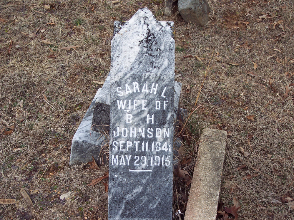 Sarah L. Sally <i>Johnson</i> Johnson