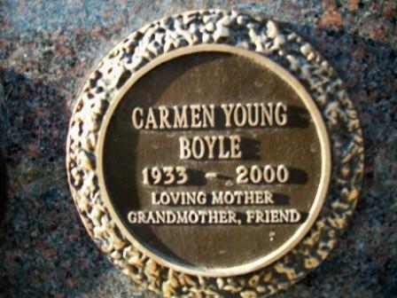 Carmen Loretta <i>Young</i> Boyle