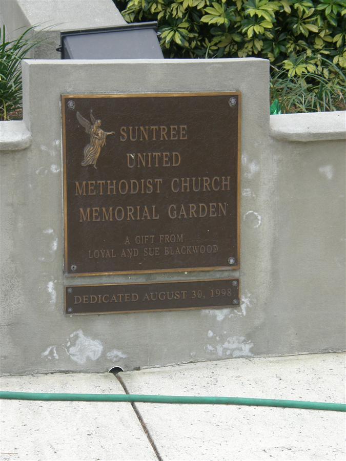 Suntree United Methodist Church Memorial Garden