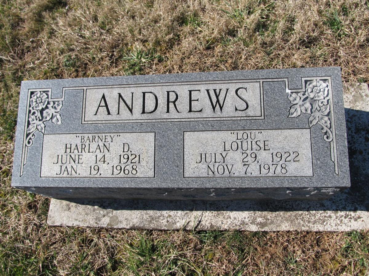 Margie Louise <i>Evans</i> Andrews
