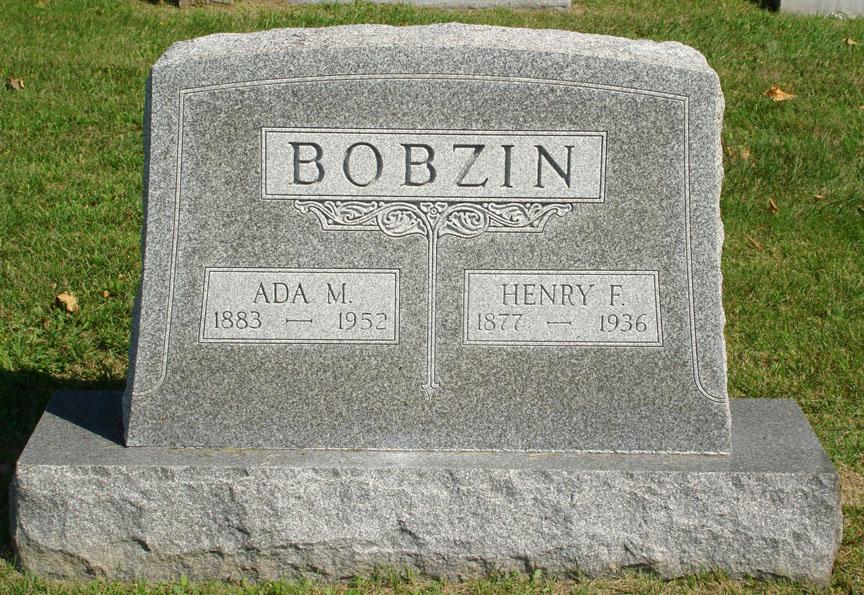 Ada Mae <i>Smith</i> Bobzin