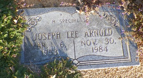 Joseph Lee Arnold