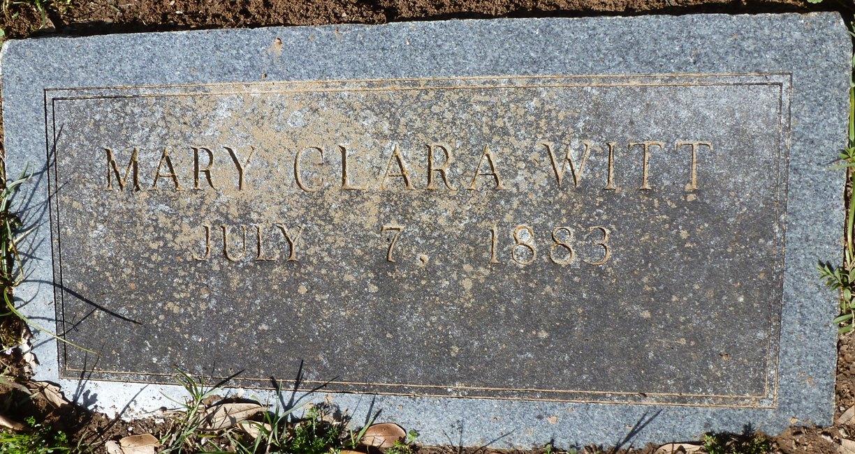 Mary Clara <i>DeWalt</i> Witt