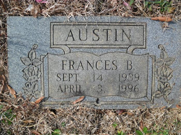 Frances M <i>Brewer</i> Austin