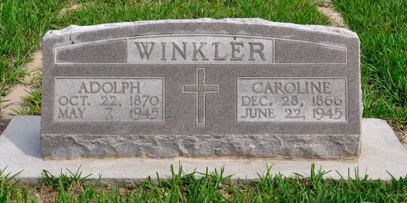 Adolf Adolph Winkler