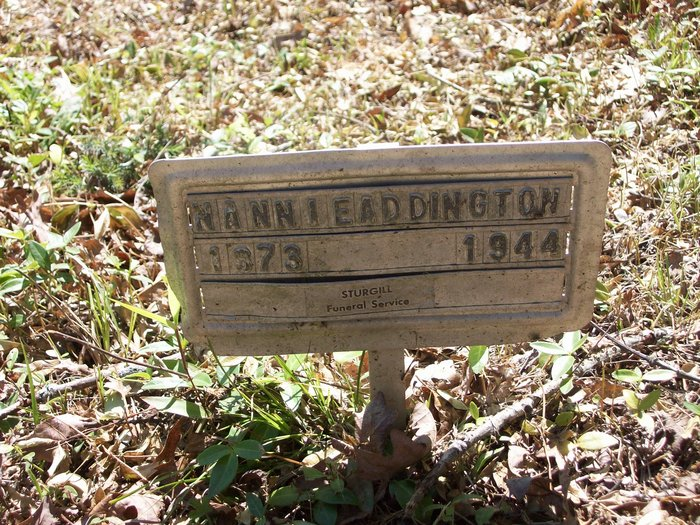 Nancy Ellen Nannie <i>Meade</i> Addington