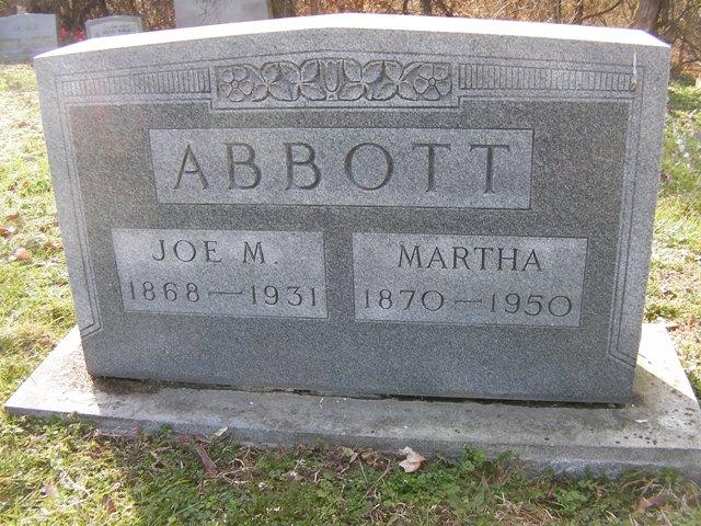 Joseph Martin Joe Mart Abbott