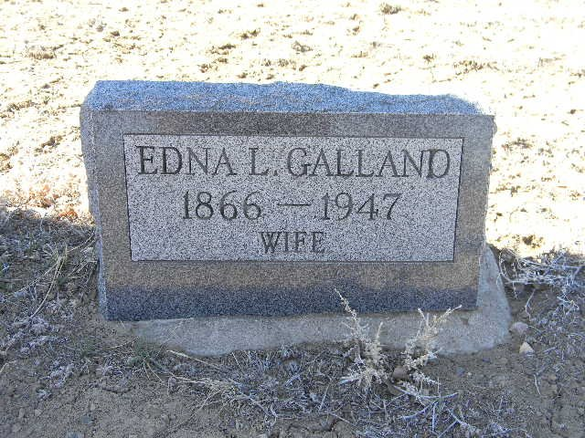 Edna Louise <i>Cypert</i> Galland