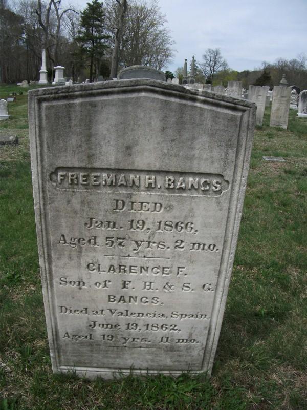 Freeman H Bangs