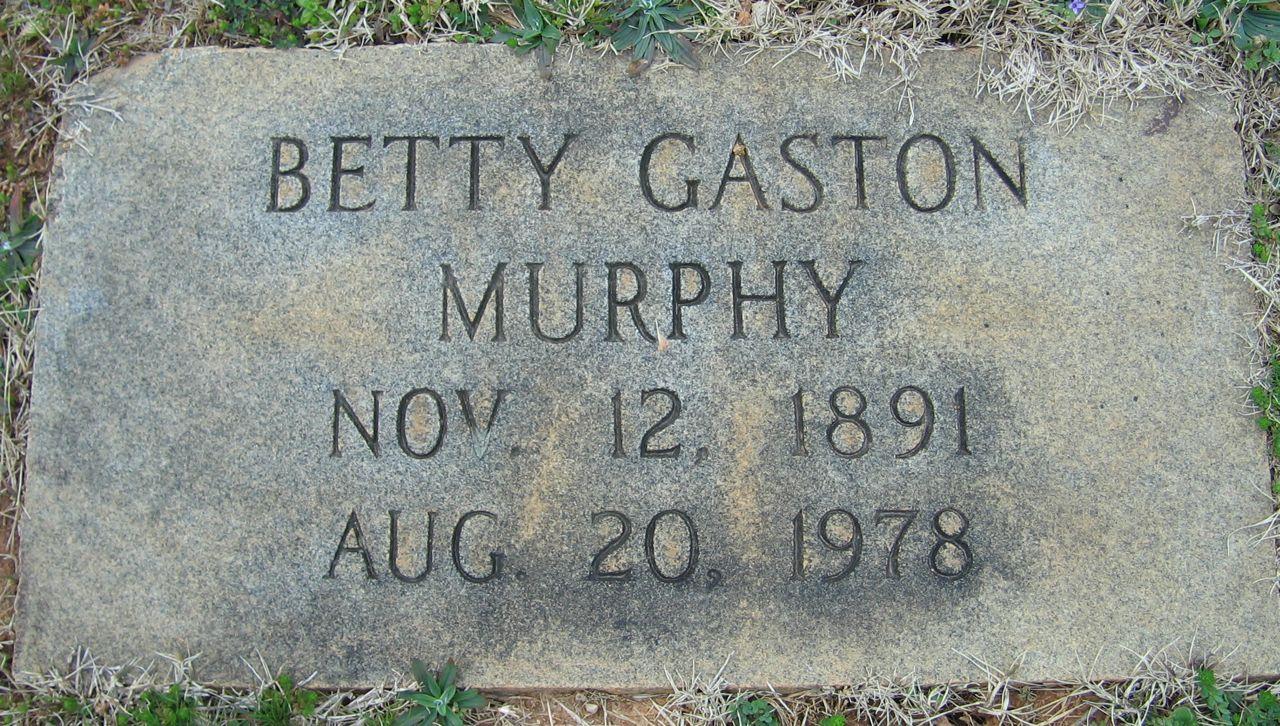 Betty <i>Gaston</i> Murphy