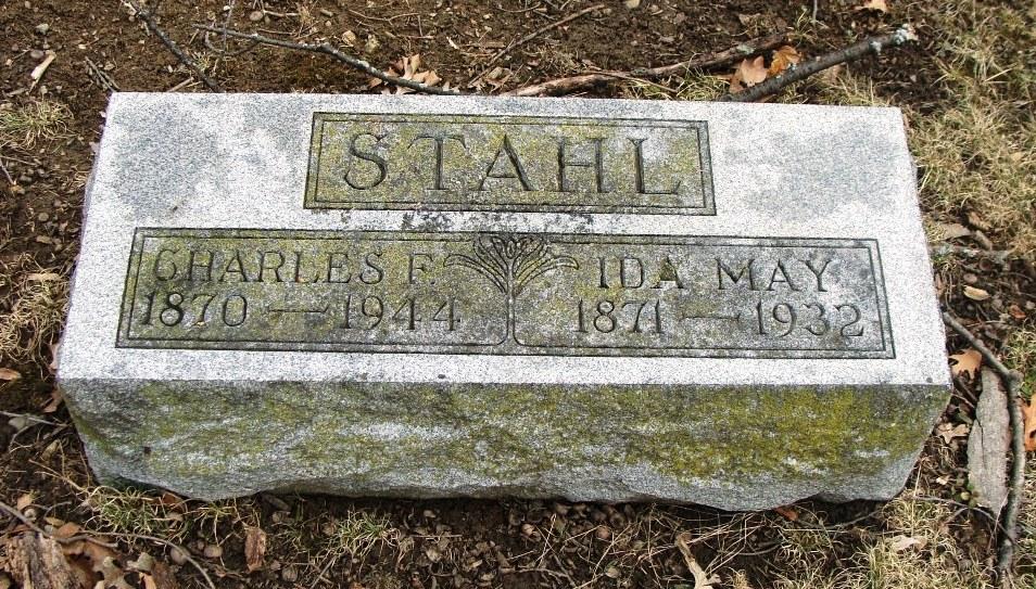 Ida May <i>Fry</i> Stahl