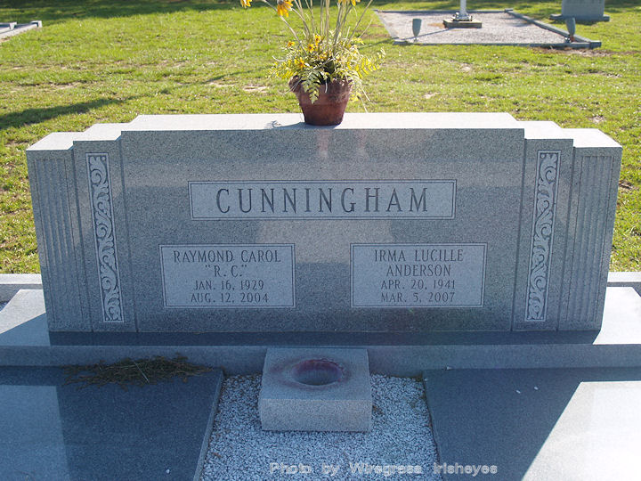 Irma Lucille Lucy <i>Anderson</i> Cunningham
