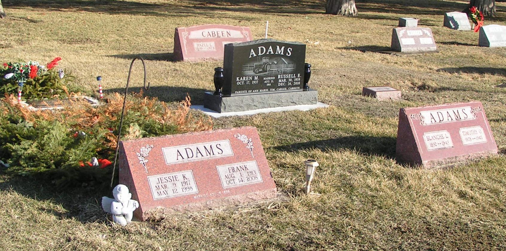 James E Jimmy Adams